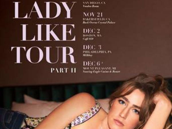 INGRID ANDRESS ANNOUNCES US LEG OF THE LADY LIKE TOUR